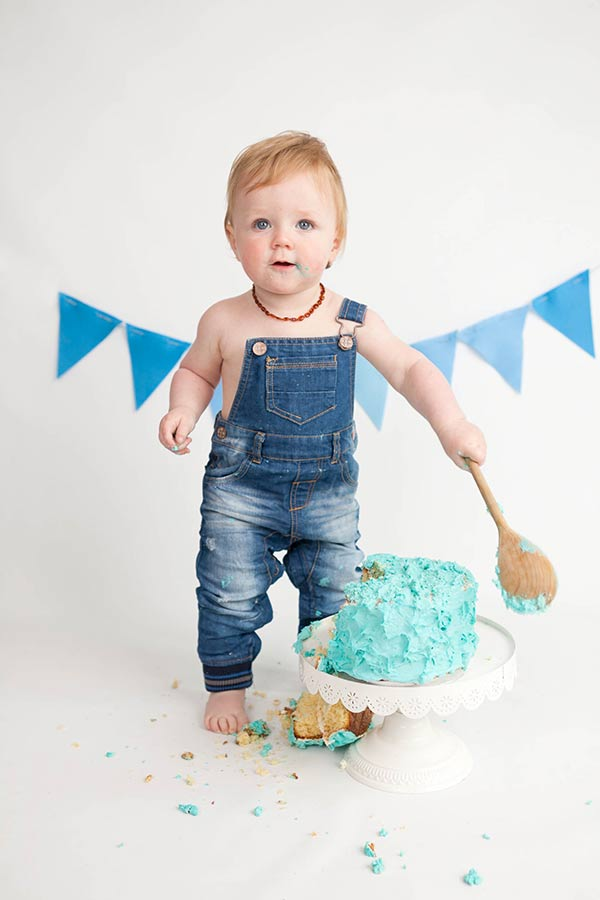 Smash Cake Pictures Boys