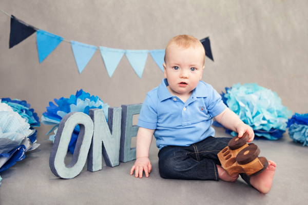 One Year Old Boy Birthday Photography Dublin