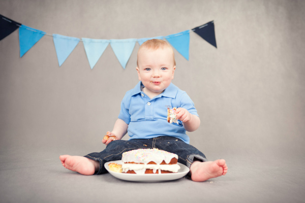 cake smash birthday baby photograper dublin