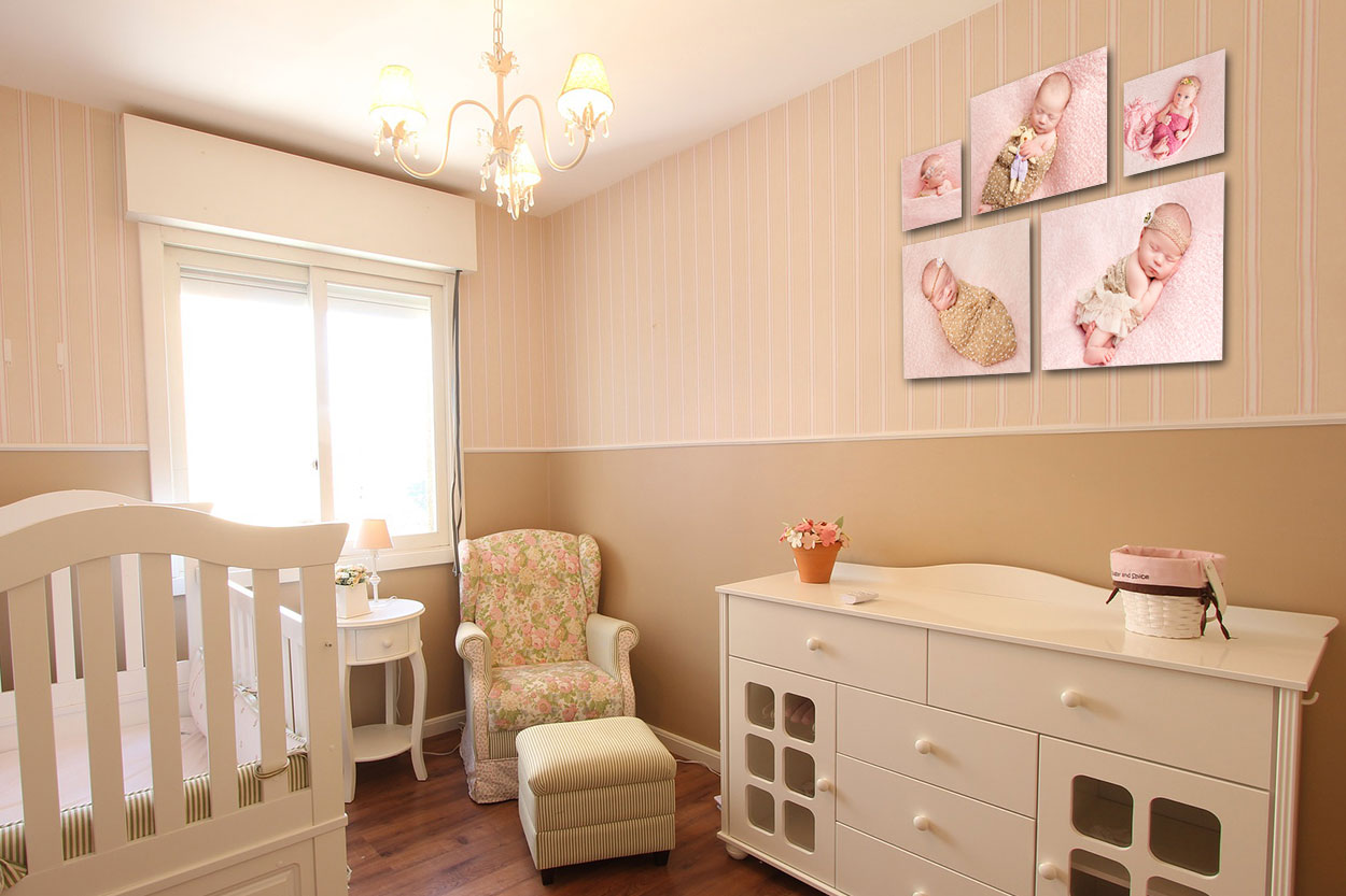 baby room pictures on the wall newborn baby girl