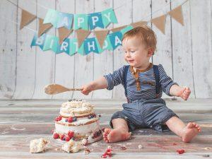 baby boy first birthday bash