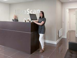 ultrascan center client gift newborn photos