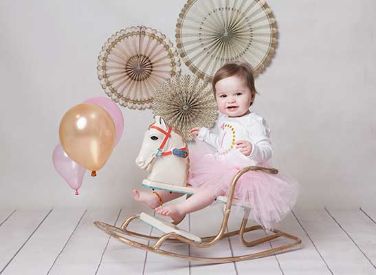one year old baby girl images
