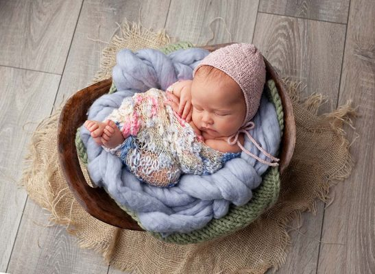 newborn girl photos dublin photographers