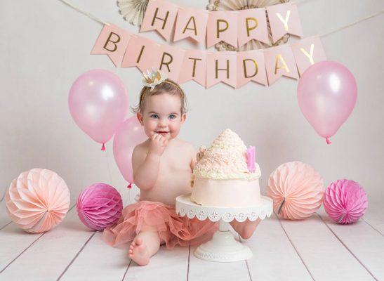 Marvelous First Birthday Cake Smash Photos In Dublin Studio Are The Best Fun Funny Birthday Cards Online Kookostrdamsfinfo